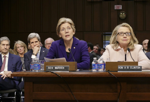 Prior to her political career, Warren was a Harvard law professor and an adviser for the Consumer Financial Protection Bureau.
