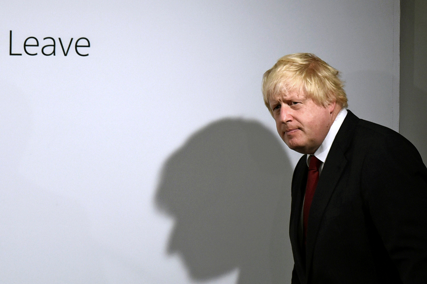 "About 10 minutes into a rambling speech yesterday about the leader required to steer Britain post Brexit, Johnson dropped his bombshell: ""I have concluded that person cannot be me."""