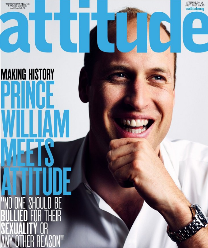 Prince William, who is second in line to the throne, met with nine LGBTQ people who had been the victims of abuse because of their sexual orientation or gender identity.