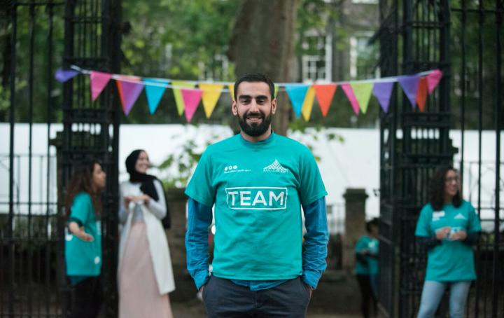 Omar Salha, Ramadan Tent Project
