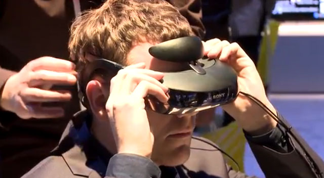 IGN Look Through Sony's Head Mounted Display at CES 2014
