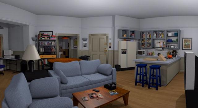 Walk Inside Seinfeld's Apartment, Courtesy of Oculus Rift