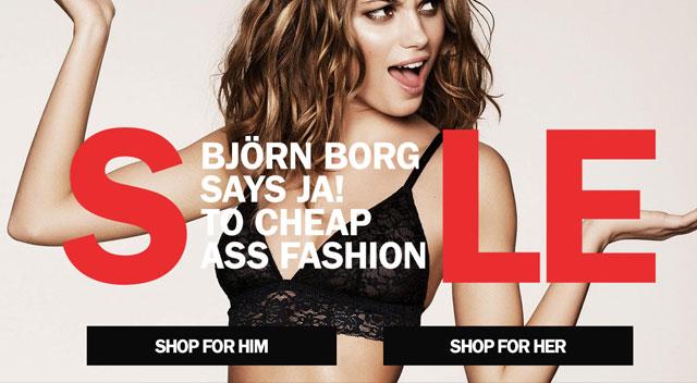 Bjorn Borg's shop