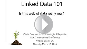 Linked Data 101: Is this web of data really real? Presented by Gloria Gonzalez