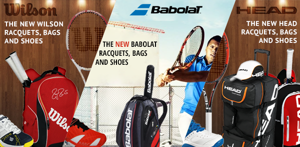 Do It Tennis Bursts into 2014 with New Wilson, Babolat, and Head Products