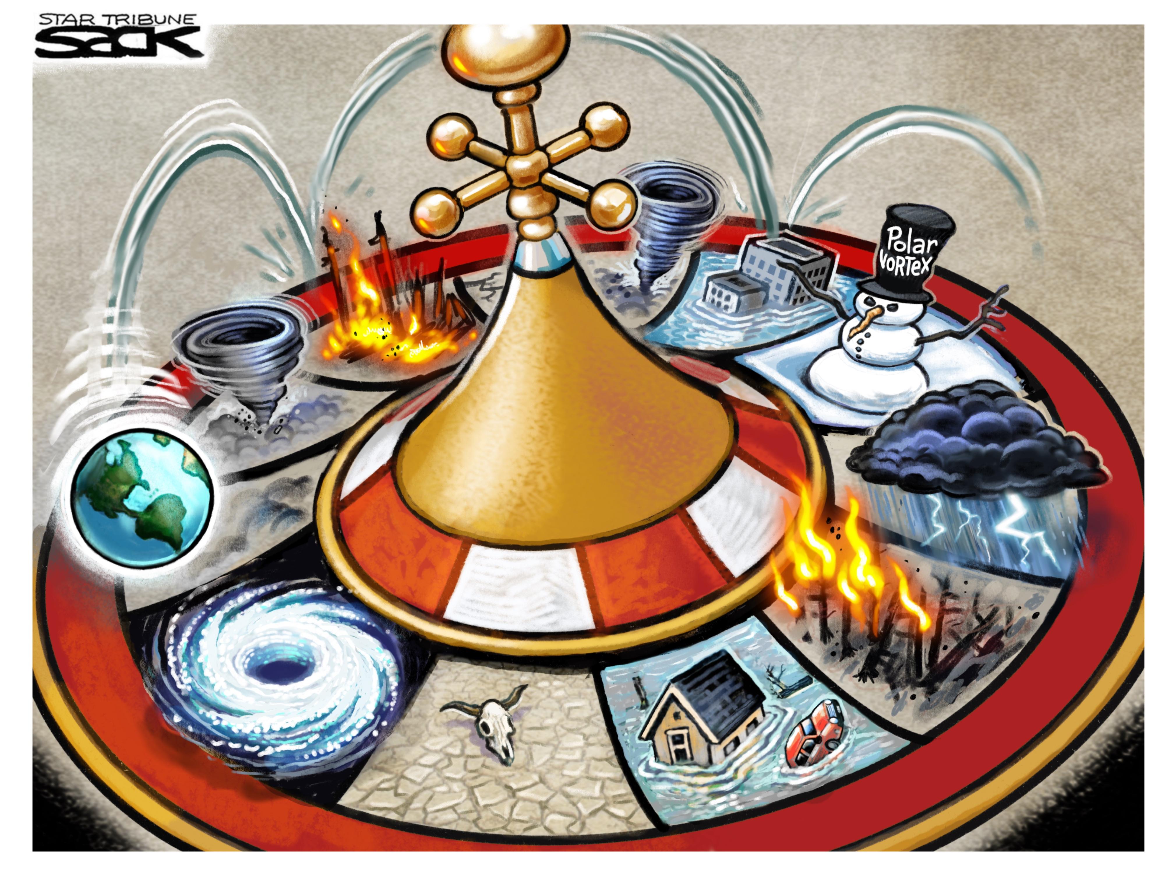Climate Roulette